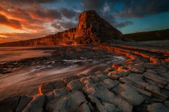Wales Landscape Photography / Painting On Red Nash Point Wales