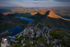 Wales Landscape Photography / Snowdon Horseshoe Lliwedd from the summit