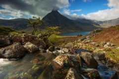Wales Landscape Photography / Tryfan Ogwen Valley and Glyders Snowdonia North Wales