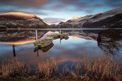 Wales Landscape Photography / Llyn Nantlle Uchaf Snowdonia  North Wales
