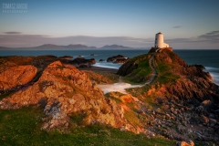 Wales Landscape Photography /Llanddwyn Island Anglesey North Wales Last light over the Lighthouse