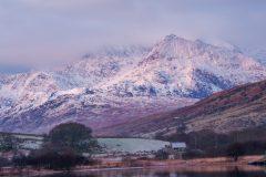 Wales Landscape Photography /Llynnau Mymbyr Snowdon  summit