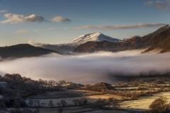 Wales Landscape Photography / Welsh Winter Llyn Gwynant Snowdonia Wales