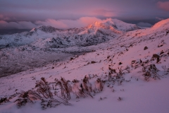Wales Landscape Photography / Snowdon summit sunrise at Winter 2016