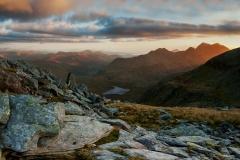 Wales Landscape Photography / Last light on the Snowdon Summit..
