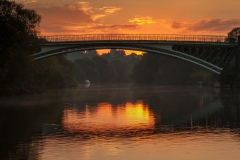 Landscape Photography Worcestershire /Holt Fleet Bridge at sunrise