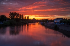 Landscape Photography Worcestershire / The River Severn at Worcester