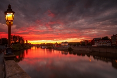 Landscape Photography Worcestershire - The River Severn at Worcester