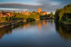 Landscape Photography Worcestershire/Worcester Cathedral stormy stunning light sunset.