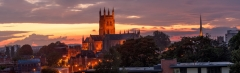 Landscape Photography Worcestershire/Worcester Cathedral sunset