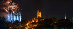 Landscape Photography Worcestershire/ Worcester Cathedral festival fireworks