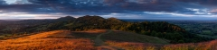 Landscape Photography Worcestershire/Malvern Hills Autumn sunset panorama